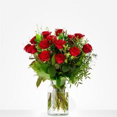 Lieflijk rode roos | Amsterdam Flowers
