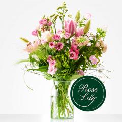 Boeket Romantisch roze