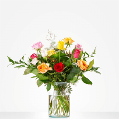 Boeket ik geef je een roosje | Amsterdamflowers